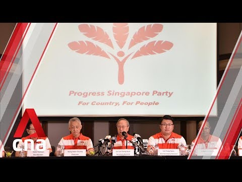 """Lee Hsien Yang is """"always free"""" to join Progress Singapore Party: Tan Cheng Bock"""