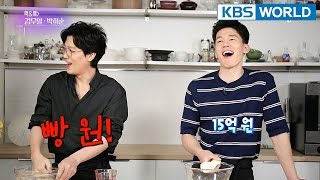 Cook & Talk : Kim Mooyul & Park Heesoon [Entertainment Weekly/2018.04.16]