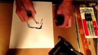 How To Draw Golden Retriever Dog.
