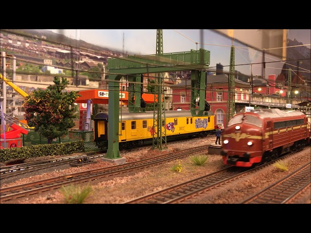 Ombygget Maerklin Norsk Nohab