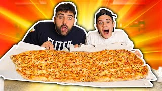 🍕 ENRY LAZZA e TATINO vs 1 METRO DI PIZZA!!!