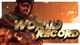 An INSANE Warzone World Record HAS JUST BEEN SET by DrDisrespect & ZLaner