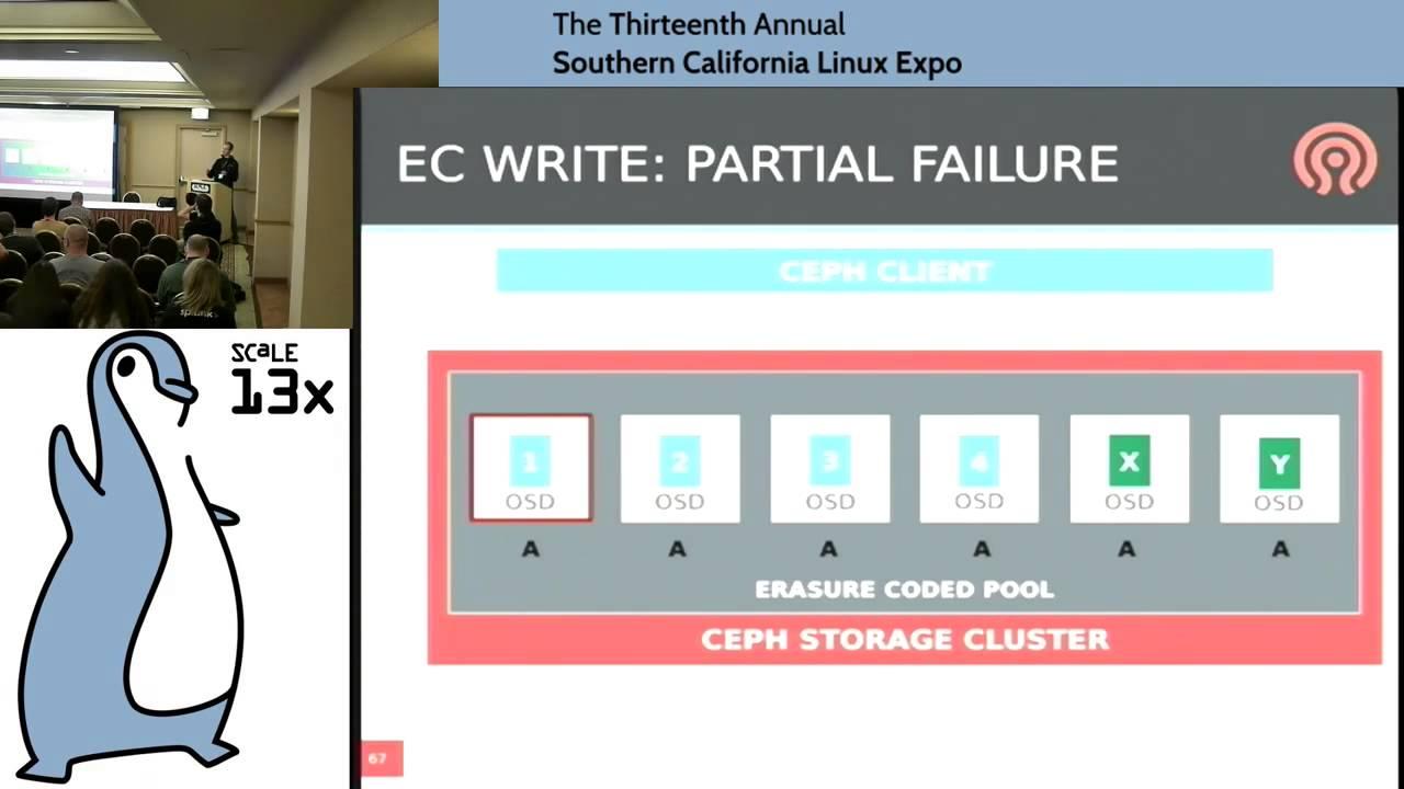 Sage Weil - Storage tiering and erasure coding in Ceph - SCALE 13x