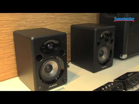 Alesis Elevate Studio Monitors Overview - Sweetwater at Winter NAMM 2013
