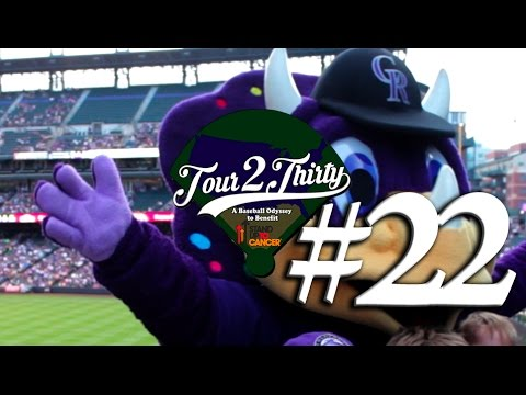 Tour 2 Thirty - Ballpark #22 of 30 - Coors Field [Rockies vs. Mariners]