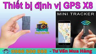 Thiết bị định vị GPS X8 -  Định vị chống nước , chuẩn xác , nghe trực tiếp âm thanh ,dễ dàng sử dụng