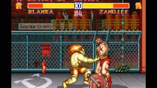 Street Fighter II - The World Warrior - Street Fighter II - The World Warrior (SNES / Super Nintendo) - Vizzed.com GamePlay - User video