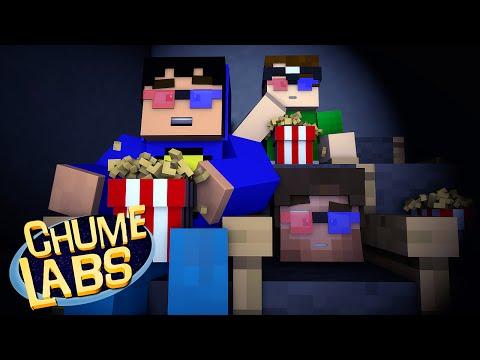 Minecraft: INDO AO CINEMA! (Chume Labs 2 #19)