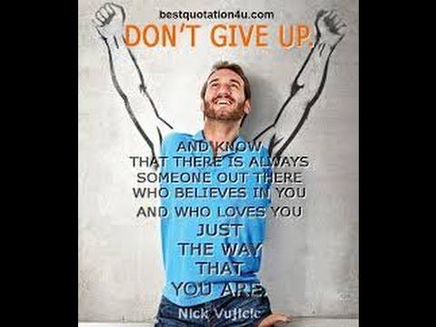 Motivational Story  Nick Vujivic (Jangan Menyerah)