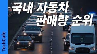 2020년 한국 자동차 판매량 순위 TOP 10