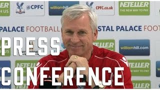 Alan Pardew Pre Everton Press Conference