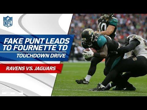 Jaguars Show No Mercy, Run Awesome Fake Punt Play Up 37-0 | Ravens vs. Jaguars | NFL Highlights