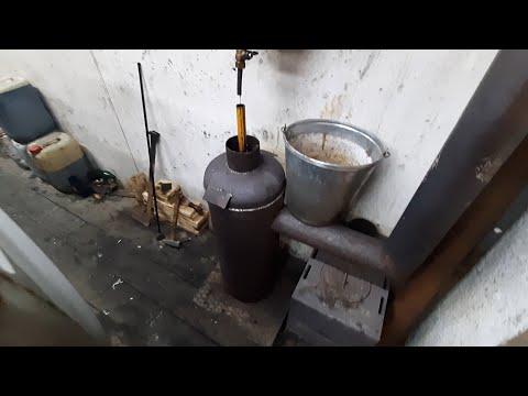 Котел на отработке из газового баллона своими руками чертежи