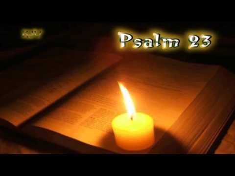 (19) Psalm 23 - Holy Bible (KJV)
