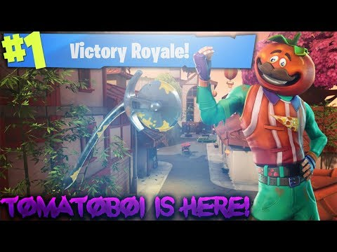 TOMATOBOI IS HERE! GETTING DUBS! SPONSOR GOAL 3/5! 161+ SOLO WINS! (Fortnite Battle Royale)