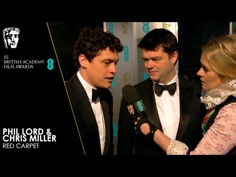 Phil Lord & Chris Miller on Spider-Man: Into the Spider-Verse | EE BAFTA Film Awards 2019