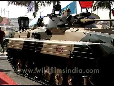New and improved BMP-2 Indian Army battle tank