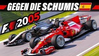 F1 2005 MOD KARRIERE #4 – Catalunya, Spanien GP | LAST TO FIRST Let's Play Formel 1 Gameplay German