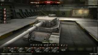 World of Tanks - Tiger(P) Tier 7 Heavy Tank - Posh Porsche