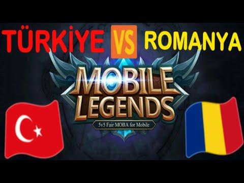 "MOBİLE LEGENDS TURNUVA CANLI YAYIN "" TÜRKİYE 🇹🇷 VS ROMANYA 🇷🇴"" LİVE"