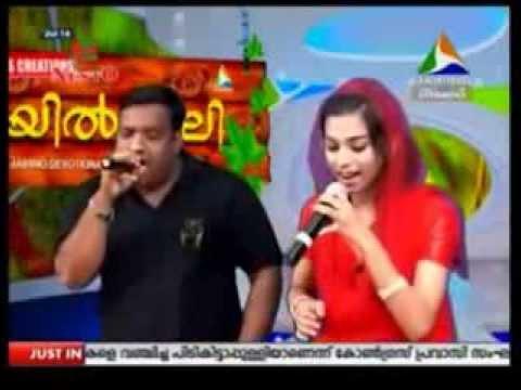 Shajahan Edakkara & Hiba Basheer Mylanchi Fame Sing Pookkal Virinju Nilkkum