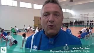 03-04-2017: #fipavpuglia - Mario Barbiero in Puglia per il Regionalday maschile 2017