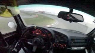 BMW E36 328i Zandvoort 27-12-2015 Drift Onboard
