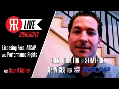 Learning Licensing Fees, Performance Rights, and ASCAP with Sean O'Malley