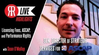 Learning Licensing Fees, Performance Rights, and ASCAP with Sean O