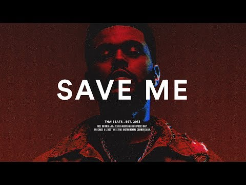 "The Weeknd Type Beat ""Save Me"" R&B Guitar Beat Instrumental 2018"