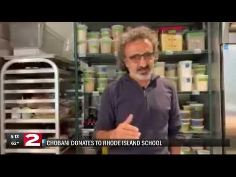 Tony Sandoval on The Breeze - Yogurt Company Chobani comes to aid of students who can't afford Lunches.