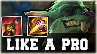 How to play Twitch Jungle LIKE A PRO - Twitch Jungle Guide League of legends [Preseason 8]