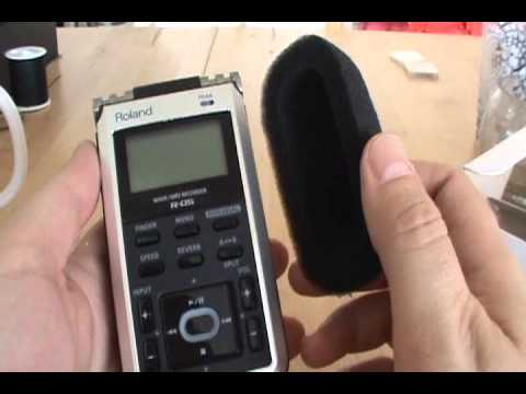Roland R-05 recorder review and demo