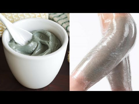 Green Clay Treatment to Get Rid Of Cellulite on Thighs and Bum