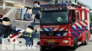 Brandweer roleplay in Roblox noord-brabant