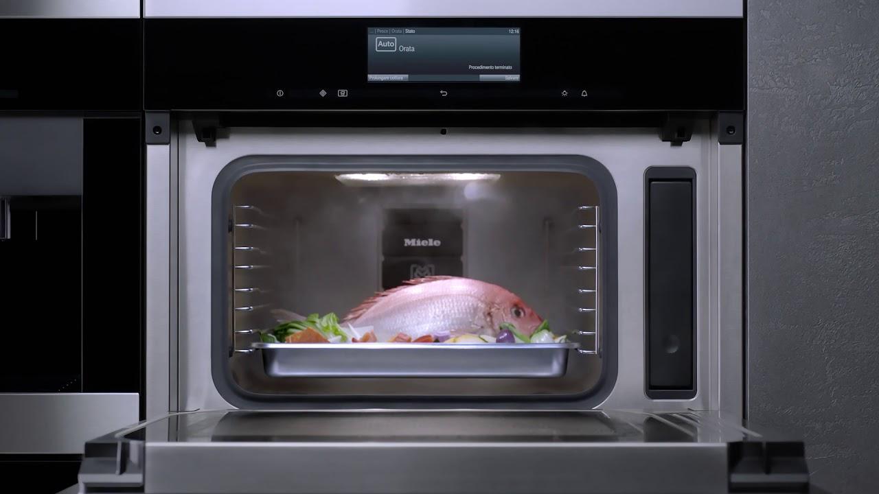 Miele italia forno a vapore con microonde integrato youtube - Forno con microonde integrato ...