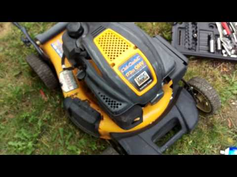 How to fix cub cadet lawn mower that does not start