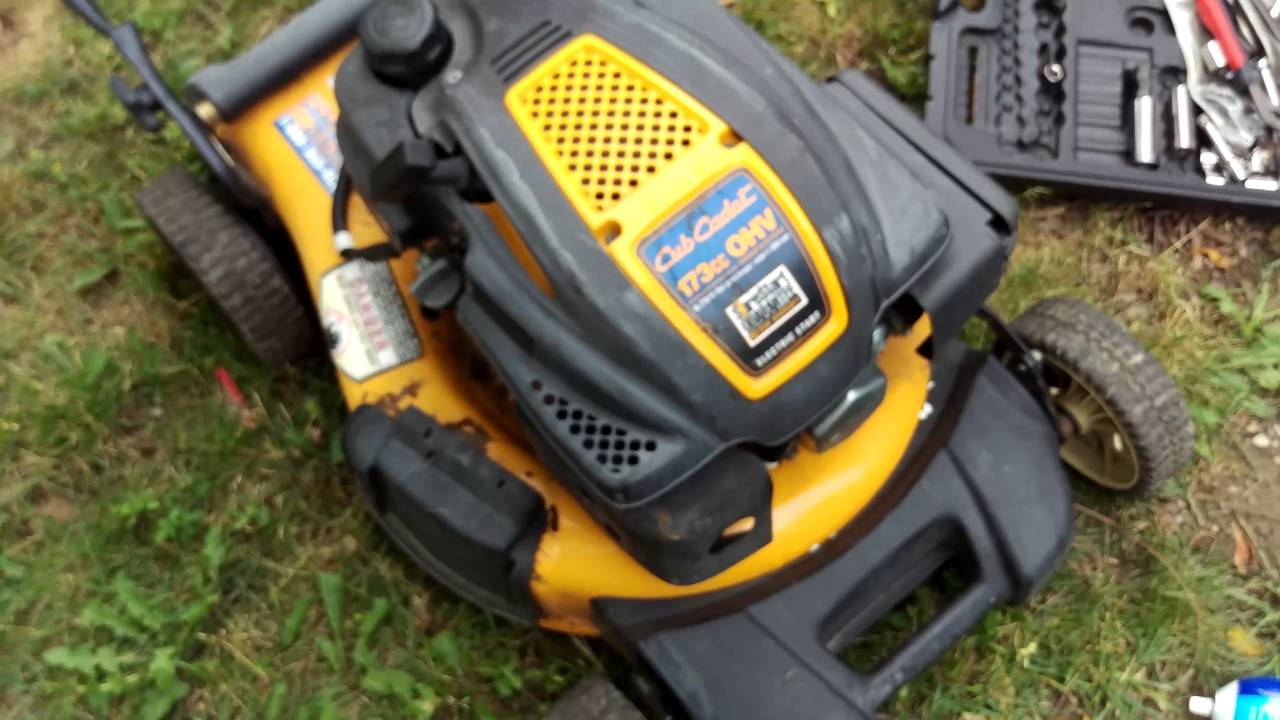medium resolution of how to fix cub cadet lawn mower that does not start