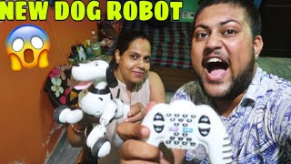 BOUGHT A NEW SPECIAL PET😱😍 **Future Dog Robot**