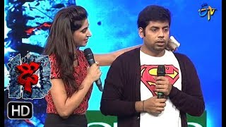 Hemanth Funny Task | Dhee 10 | 16th August 2017| ETV Telugu