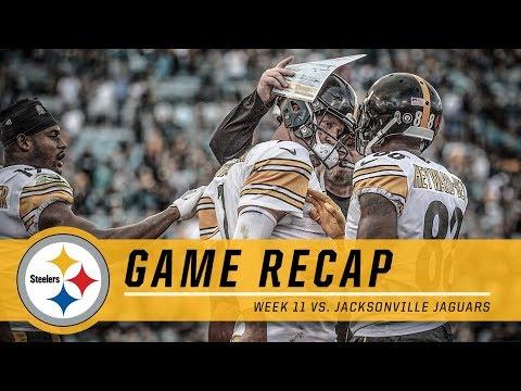 Steelers win on Ben's late-game heroics vs. Jaguars | Game Recap