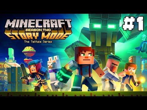 Minecraft Story Mode: Season 2 | MĚSTO BEACONŮ! | Část #1 - Epizoda 1 | Pedro