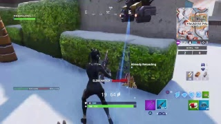 Fortnite Gameplay queue de lynx et déverrouillage de couleur finale