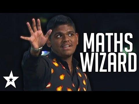 Maths Wizard SHOCKS Hosts Once Again On Asia's Got Talent! | Got Talent Global
