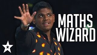 Maths Wizard SHOCKS Hosts Once Again On Asia's Got Talent! | Got Talent Global