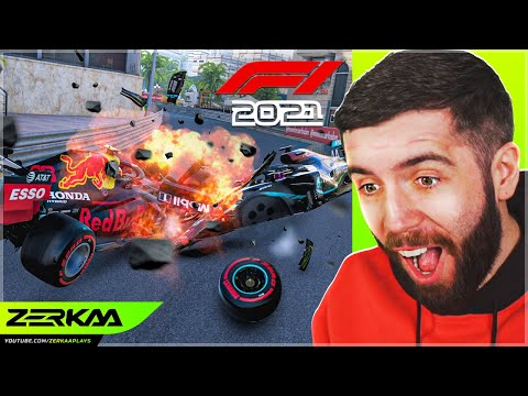 F1 2020 but there is EXTREME 1000% Damage! *IMPOSSIBLE MOD* |
