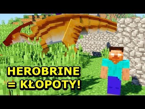 Minecraft Park Jurajski 9- HEROBRINE NA ŚWIECIE DINOZAURÓW!