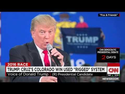 Donald Trump Slams 'Rigged' System After Colorado