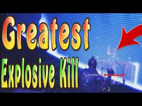 Greatest Remote Explosive Kill through a Storm! | Fortnite C4 Update Kills | Fortnite Xbox Gameplay