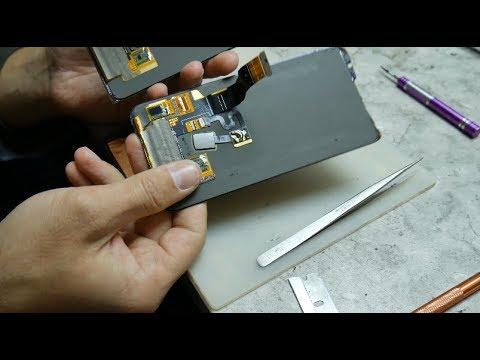 Meizu 16th - Как я облажался. Переклейка или замена модулем?!/ Meizu 16th Display Replacement